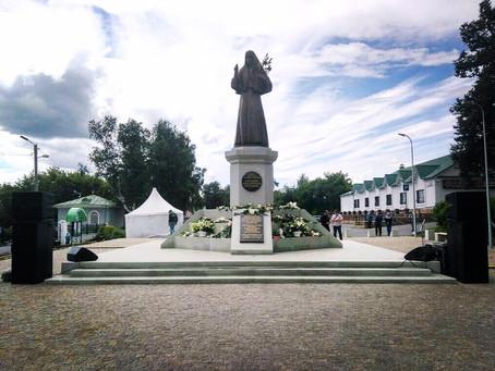 г. Алапаевск  Открытие памятника святой преподобномученице Княгине Елизавете Федоровне