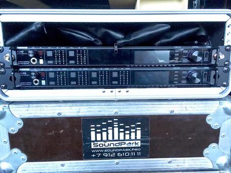 Обновление парка микрофонов SHUREAXIENT - 6 каналов