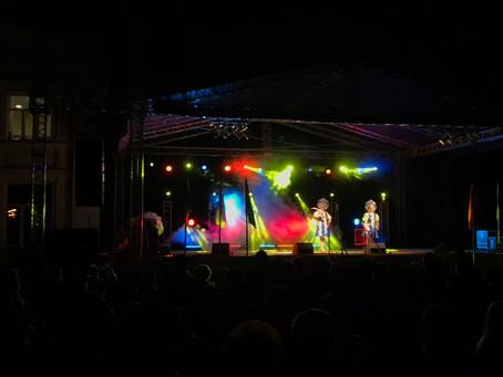 Митинг и концертная программа посвященные празднованию 43- годовщине победы а ВОВ.