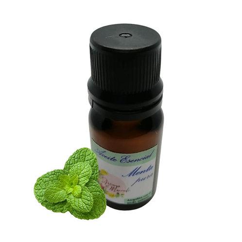 Aceite Esencial De Menta Pura 10 mm