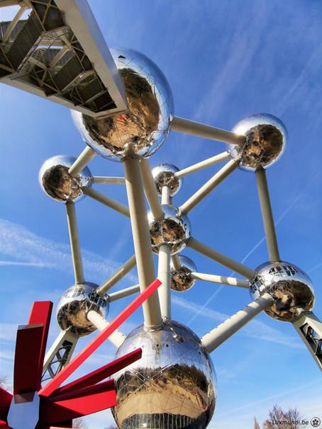 L'Atomium, le cristal de fer à visiter