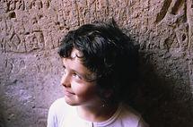 Enfant souriant allez l'OM !