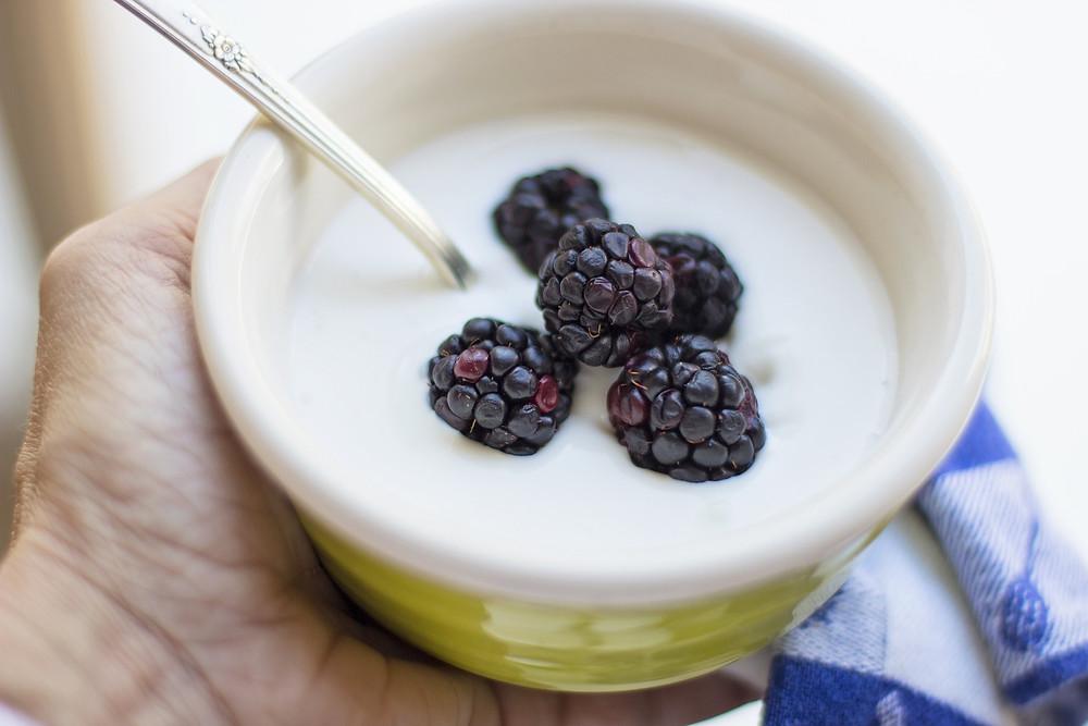 yaourt aux fruits