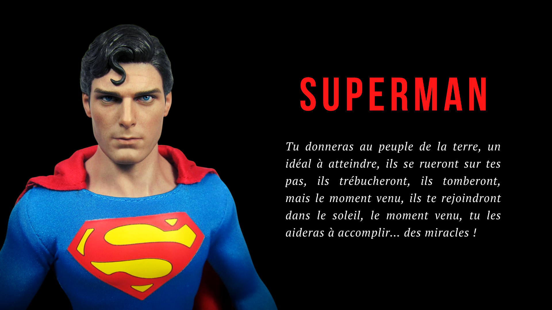 Fond d'écran Superman