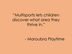 Maroubra Playtime
