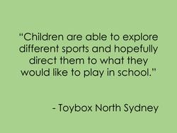 Toybox Nth Syd