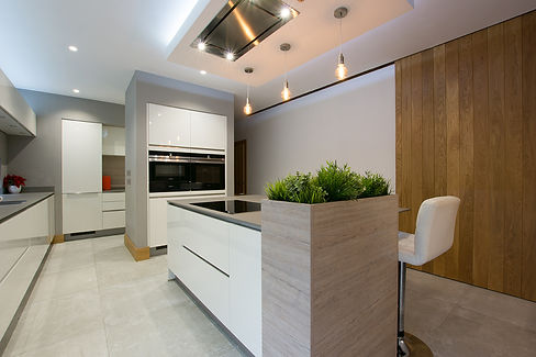 Modern Interior Photography Grey Kitchen Architecture Photographer