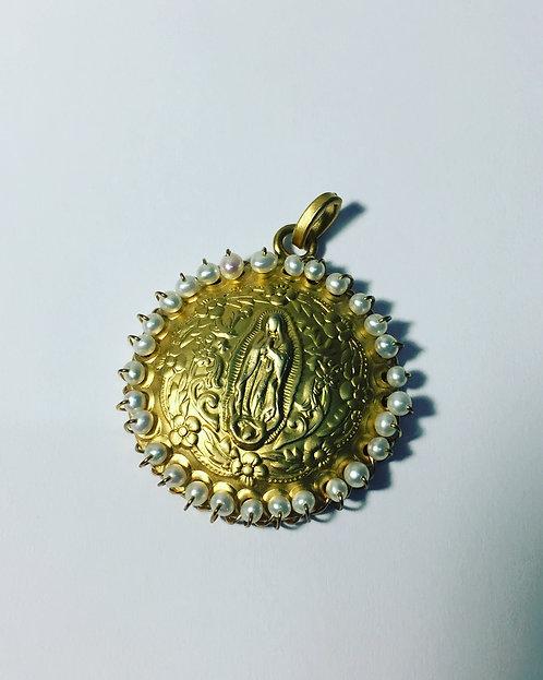 Medalla Mediana Virgen Gpe. 004410076820