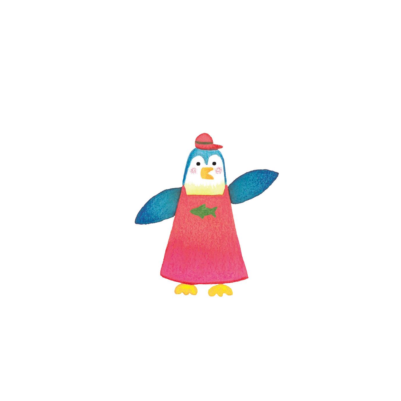 ペンギンの魚屋さん
