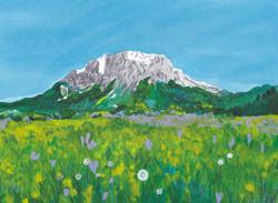 Zugspitze・ドイツ最高峰の山