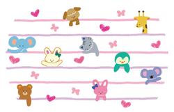 animals x stripe