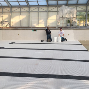 Commerical Pool Repainting