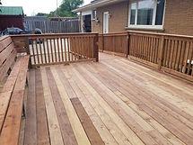 deck carpentry