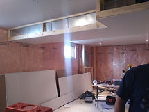 drywalling