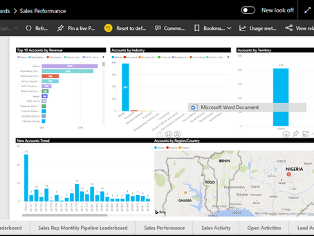 Power BI on Power Apps