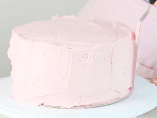Crema de mantequilla de fresas