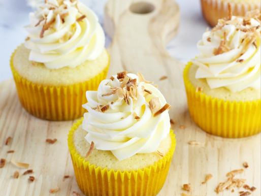 Cupcakes de Coco y Dulce de leche
