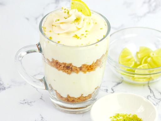 Vasitos de Limon (Cheesecake sin horno)