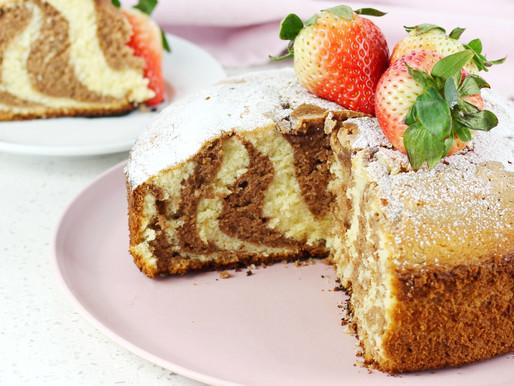 Torta Marmoleada con Nutella