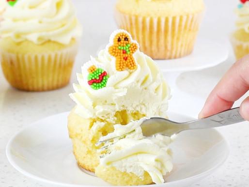 Cupcakes de Ponche Crema