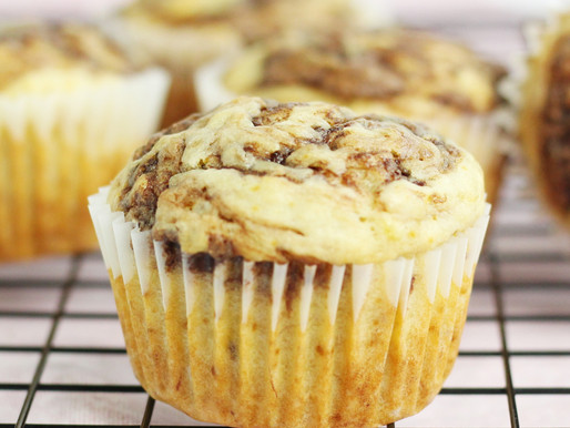 Muffins de Cambur y Nutella
