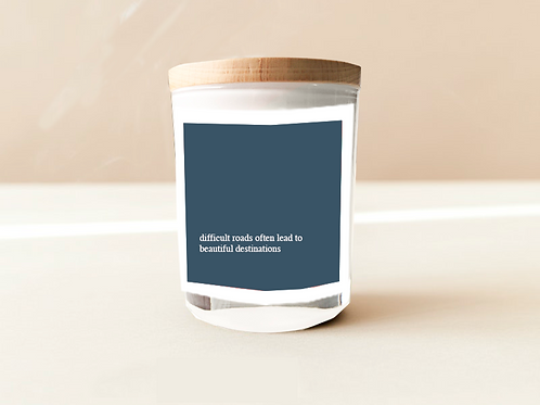 Soulful Quote Candle - Beautiful destinations