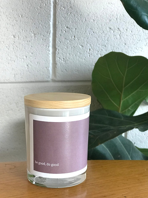 Soulful Quote Candle - Be good do good