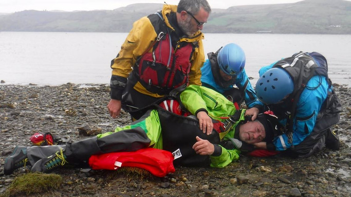 Casualty Care on the beach