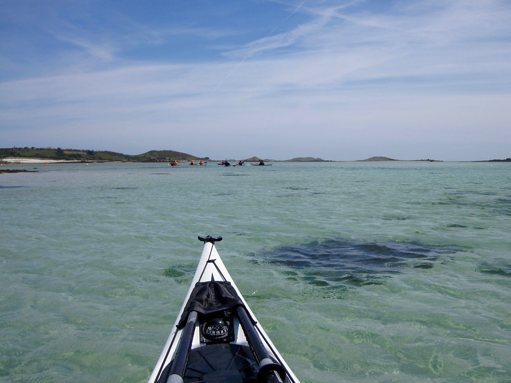 Crystal clear seas of the Isles of Scilly