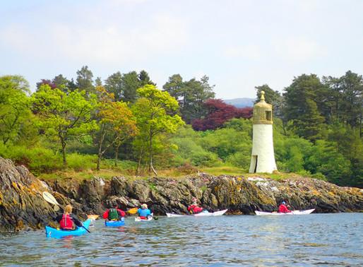 Sea Kayak Award Course, Scotland