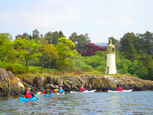 Sea Kayak Award Course, Scotland