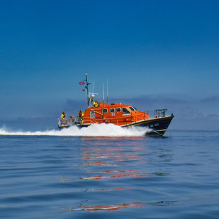 Lifeboat Arrival