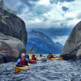 Rocky fjords