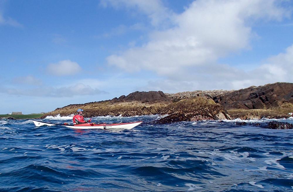Tide in the Bluemill Sound - Shetland Islands