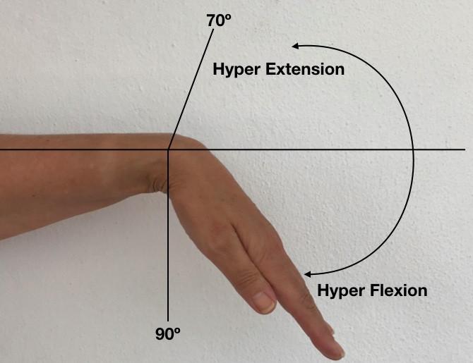 Wrist hyeprflexion & hyperextension