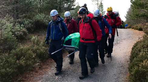 Stretcher carrying