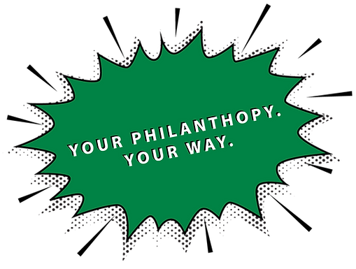 Your Philanthropy. Your Way.