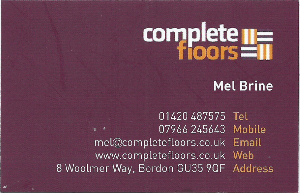 Complete floors