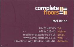 Complete floors