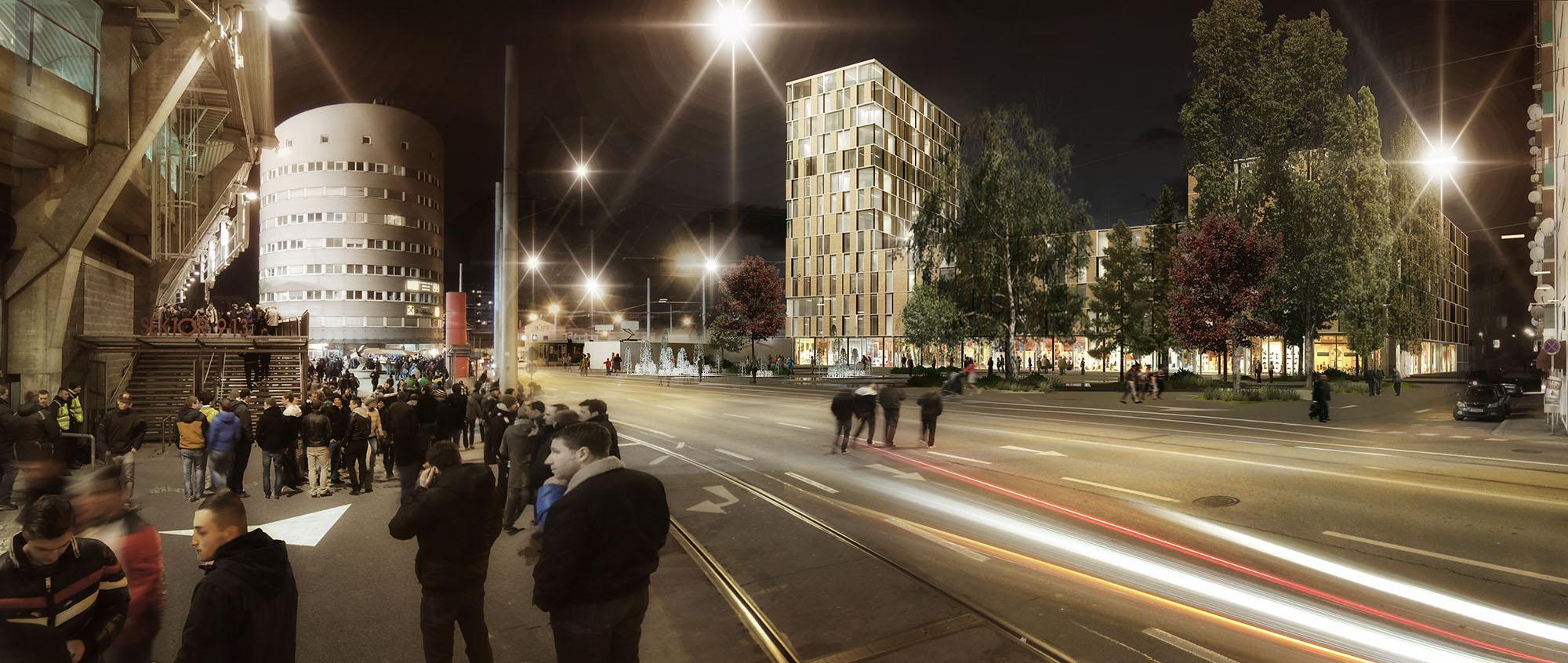 1. Preis Wettbewerb City Gate Graz