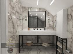 Banyo Tasarımı 3d render