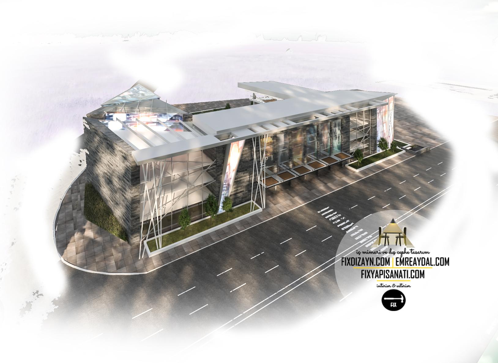 avm mimari tasarımı