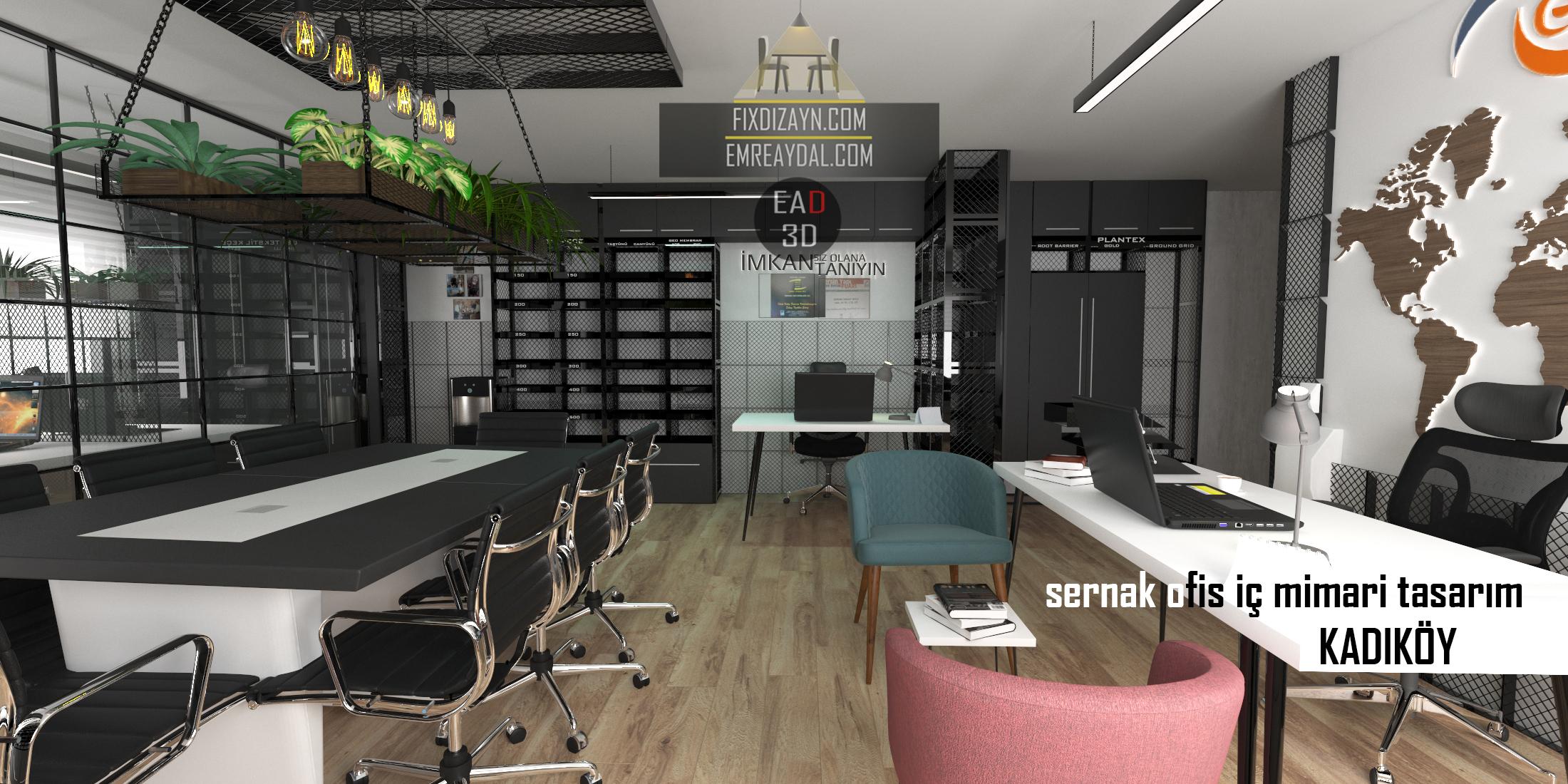 Sernak Ofis İç Mimari Tasarımı