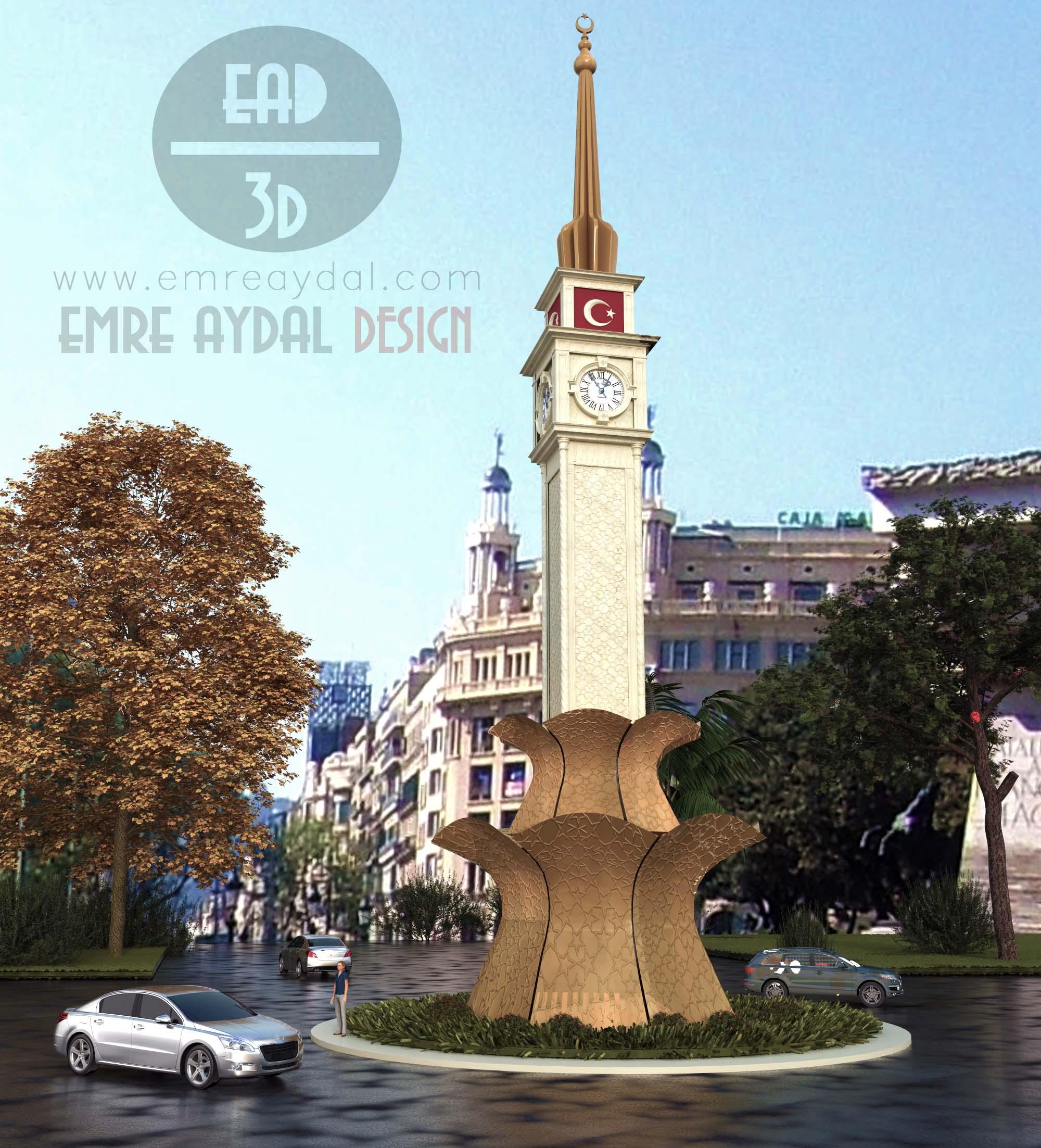 Belediye Tasarım Görselleştirme
