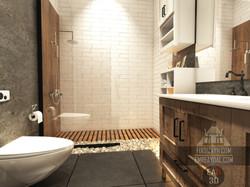Şile Villa Banyo Tasarım, Render