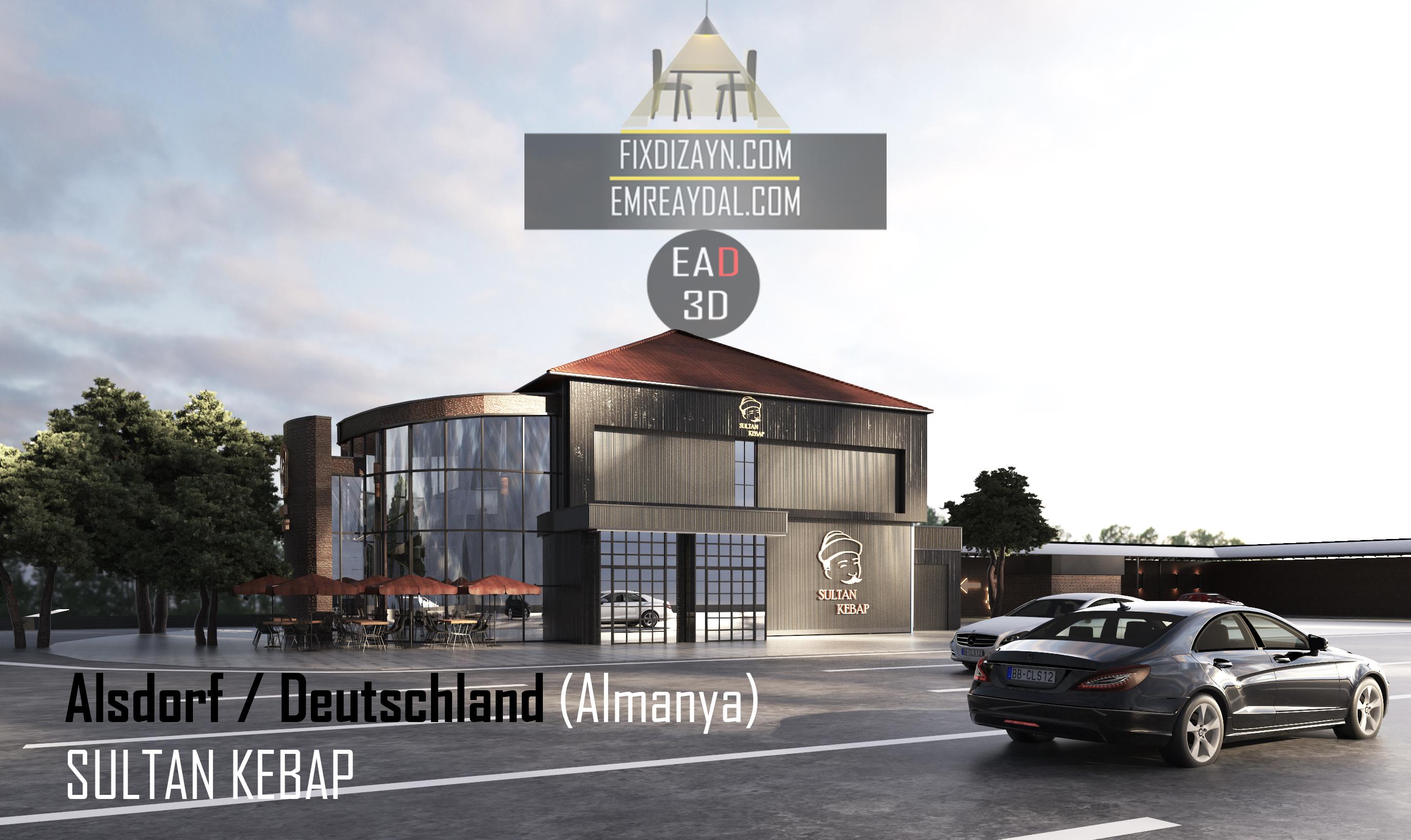 Restaurant Dış Cephe Tasarımı