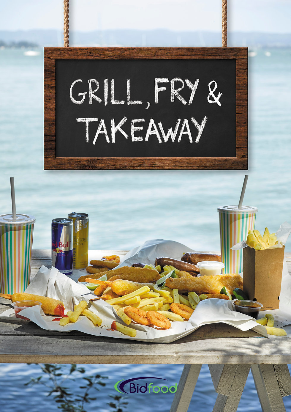 Grill, Fry & Takeaway