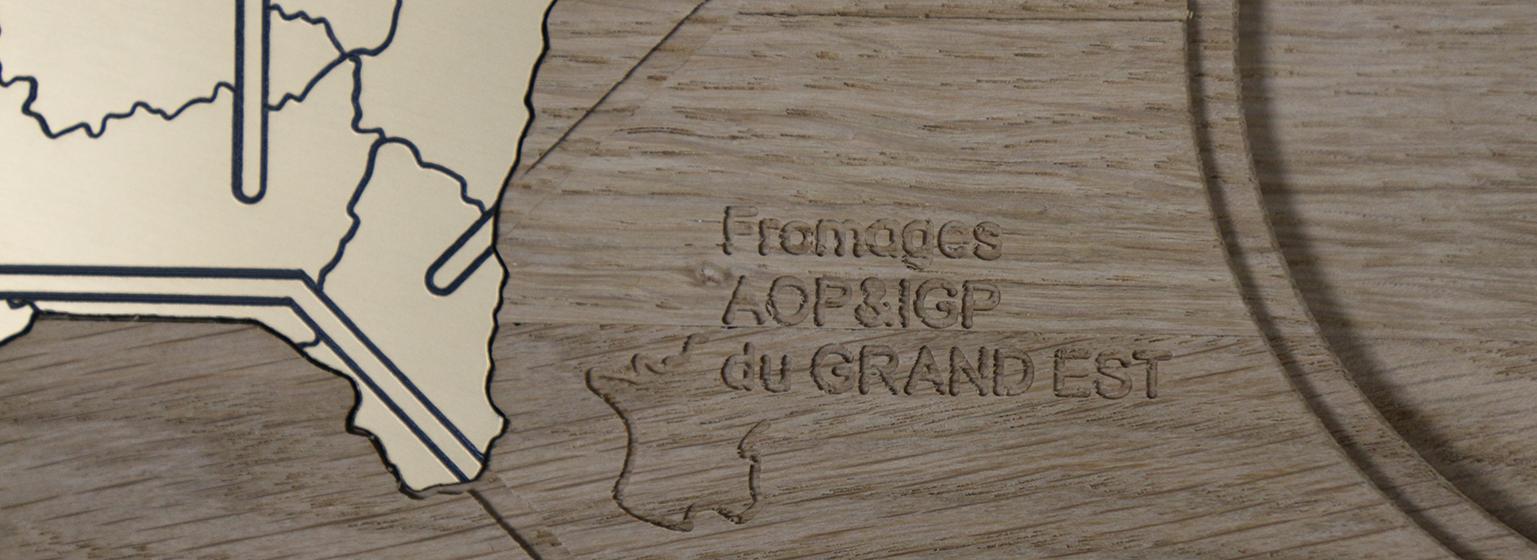 Plateau à fromages AOP&IGP du Grand Est