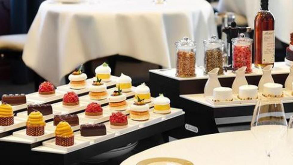 Chariots à desserts