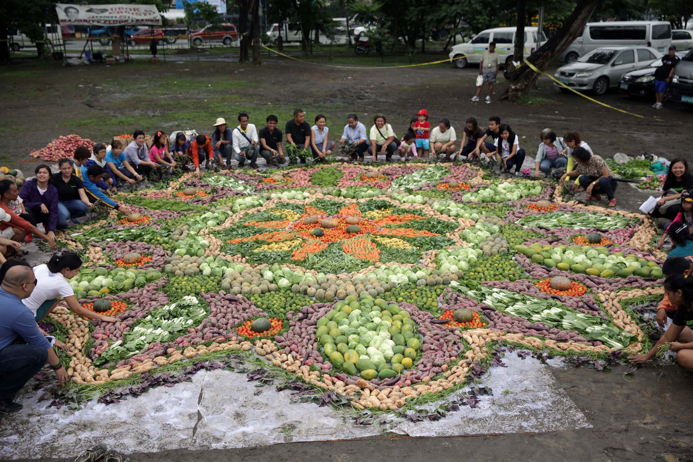 Largest Food Art